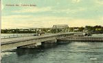 Portland, Maine, Tukey's Bridge Postcard