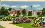 Portland, Maine, Post Office Postcard