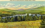 Rangeley Region Dodge Pond and Spotted Mountain Postcard
