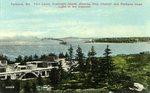 Portland's Fort Levet, Cushing's Island Postcard