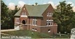 Rumford Falls Public Library Postcard