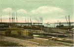 Cape Tellison Docks, Stockton Springs, Me. Postcard