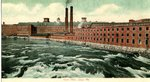 Saco, Maine, York Mills Postcard