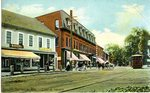 Central Square, South Berwick, Me. Postcard