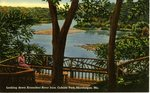 Skowhegan, Maine, Looking Down the Kennebec River              Postcard