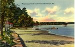 Wesserunsett Lake, Lakewood, Skowhegan, Maine Postcard