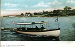 Saco River,  Launch Nimrod              Postcard