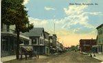 Springvale, Maine, Main Street Postcard