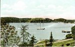 South Brooksville, Maine, Harbor View         Postcard