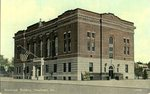 Skowhegan, Maine, Municipal Building Postcard