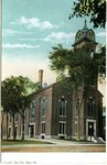 Saco, Maine, City Hall Postcard