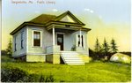 Sargentville, Maine, Public Library      Postcard