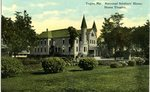 Togus, Maine, National Soldiers' Home Postcard