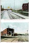 Saco, Maine, Boston and Maine R.R. Station Postcard