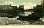 Saco, Maine, Cataract Falls and Saco River