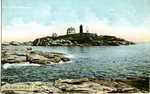 York Beach Nubble Lighthouse Postcard