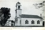 Waterford Congregational Church Postcard