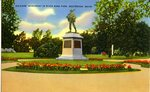 Westbrook, Maine, Soldiers' Monument Postcard