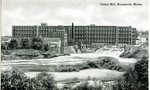 Brunswick, Maine, Cabot Mill Postcard