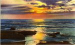 Water Scene Postcard