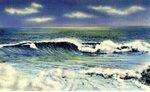 Shoreline Scene Postcard