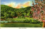 Maine Farm Scene Postcard