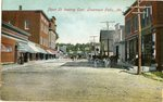 Livermore Falls, Maine, Depot Street Looking East