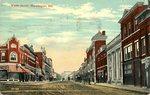 Skowhegan, Water Street Postcard