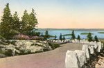 Bar Harbor, Maine, Frenchman's Bay from Cadillac Mountain Road