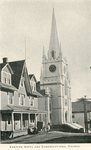 Machias, Maine, Eastern Hotel and Congregational Church
