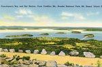 Bar Harbor, Maine, Frenchman's Bay and Bar Harbor