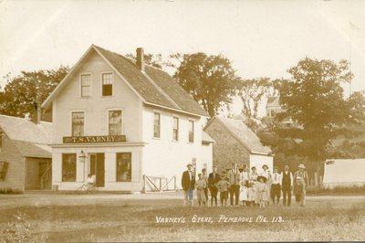 Pembroke, Maine, Varney's Store