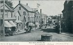 Machias, Maine, Main Street Scene