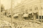 Machias, Maine, Centre Street Scene