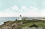 Pemaquid, Maine, Pemaquid Light Looking West