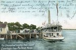 Portland, Maine, Steamboat Landing on Peaks Island