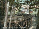 Portland, Maine, Rustic Bridge and Casino, Riverton Park