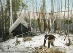 Making Camp in the Maine Woods