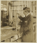 Edward R. Berry in a Scientific Laboratory