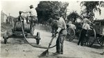 Road Work with a Hand Pump