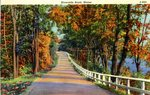 Riverside Road, Maine, Postcard