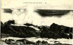 Atlantic Ocean Surf and Rocks Postcard