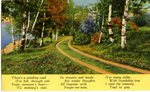 Friendship Memory Trail Postcard
