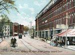 Auburn, Maine, Main Street Looking Toward Court Street