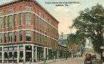 Auburn, Maine, Court Street Showing Goff Block