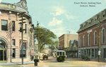 Auburn, Maine, Court Street Looking East
