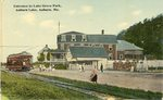 Auburn, Maine, Entrance to Lake Grove Park, Auburn Lake