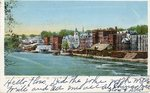 Augusta, Maine, Kennebec River Waterfront