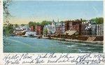 Augusta, Maine, Kennebec River Waterfront