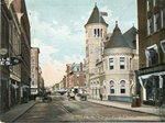 Augusta, Maine, Water Street and Post Office